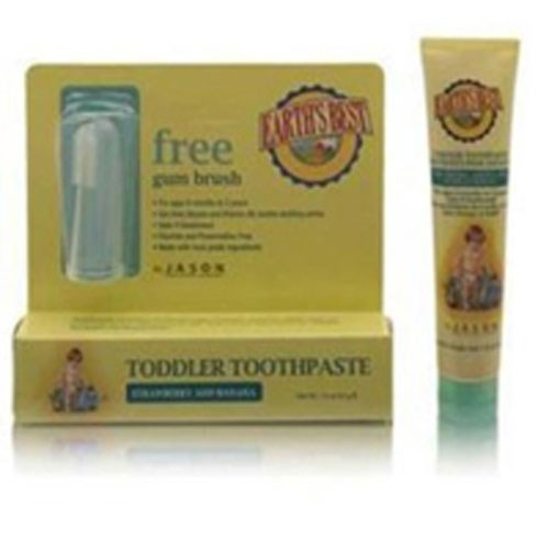 Earth's Best Toddler Toothpaste Strawberry & Banana 1.6 Oz by Earth's Best