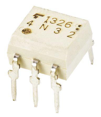 Toshiba , TLP561J(IFT7,C,F) Phototriac Output Optocoupler, Through Hole, 5-Pin DIP (10)