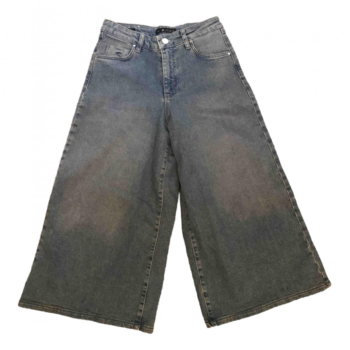 Supertrash \N Blue Denim - Jeans Jeans for Women 25 US