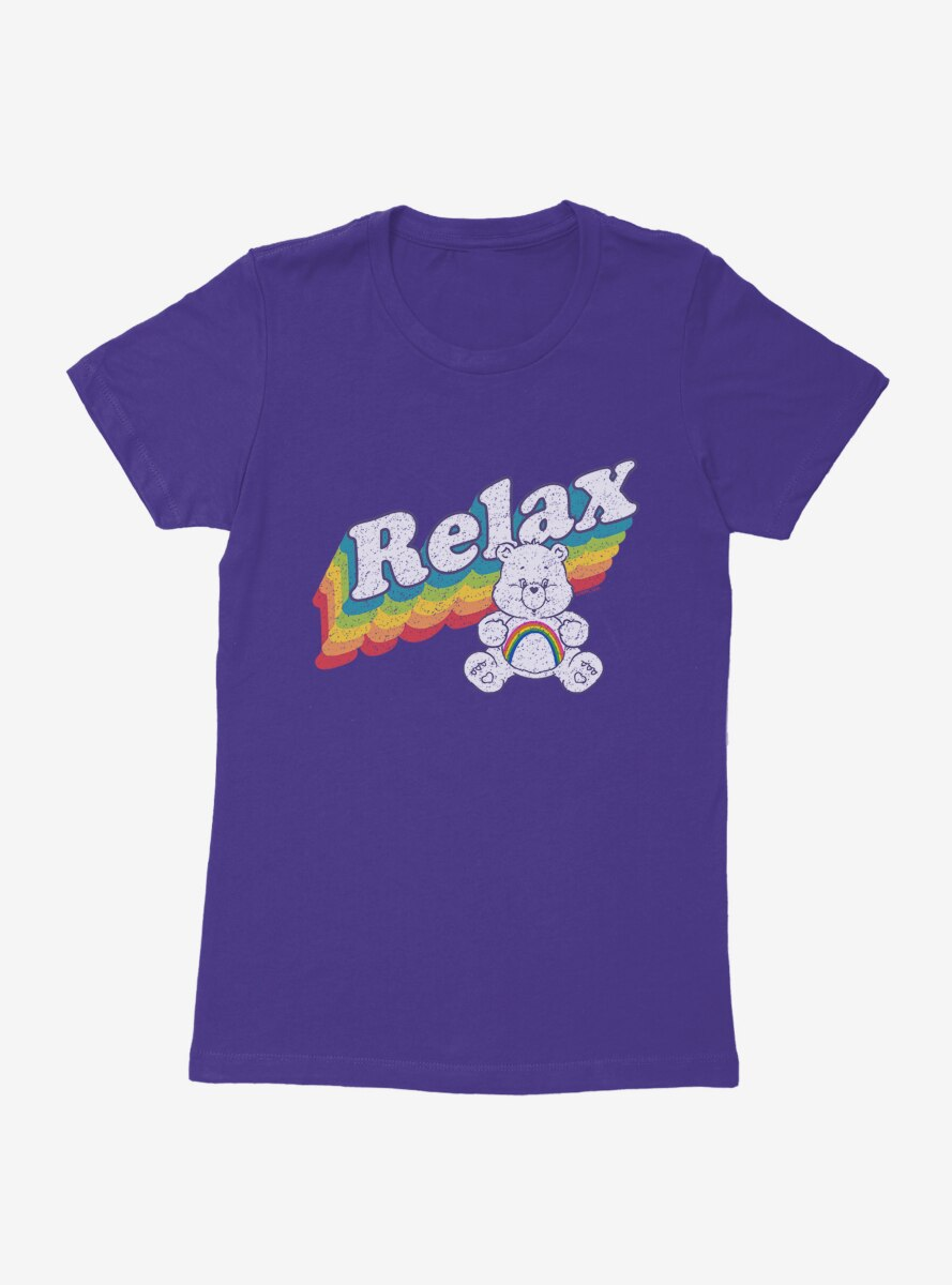 Care Bears Cheer Bear Relax Womens T-Shirt
