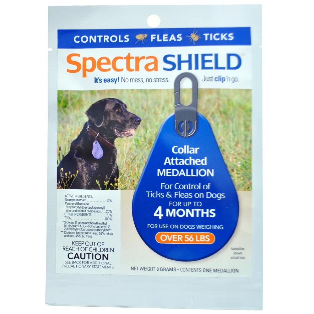 Spectra Shield flea & tick Medallion for Large Dogs (over 56 lb) BLUE