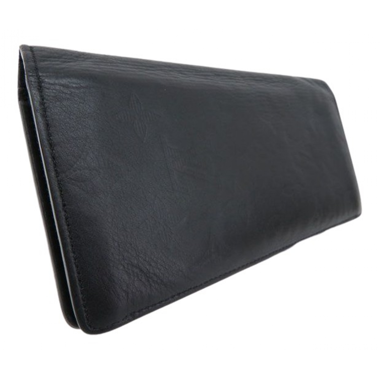 Louis Vuitton Brazza Black Leather Small bag, wallet & cases for Men \N