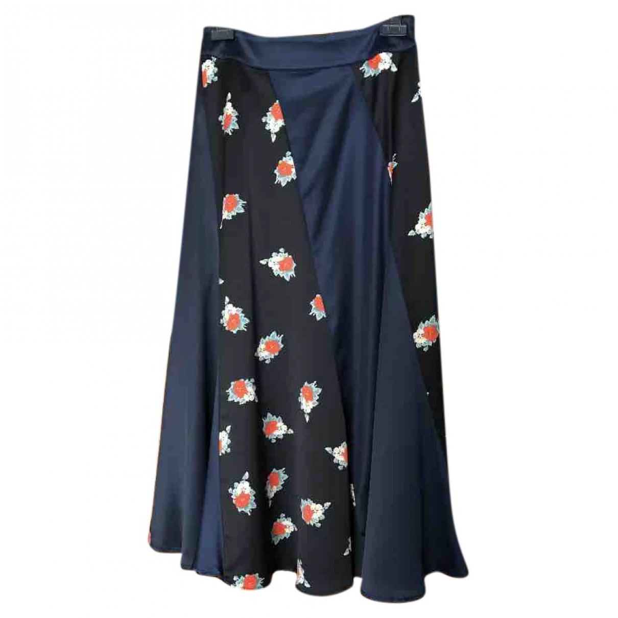 Ganni \N Navy skirt for Women 38 FR