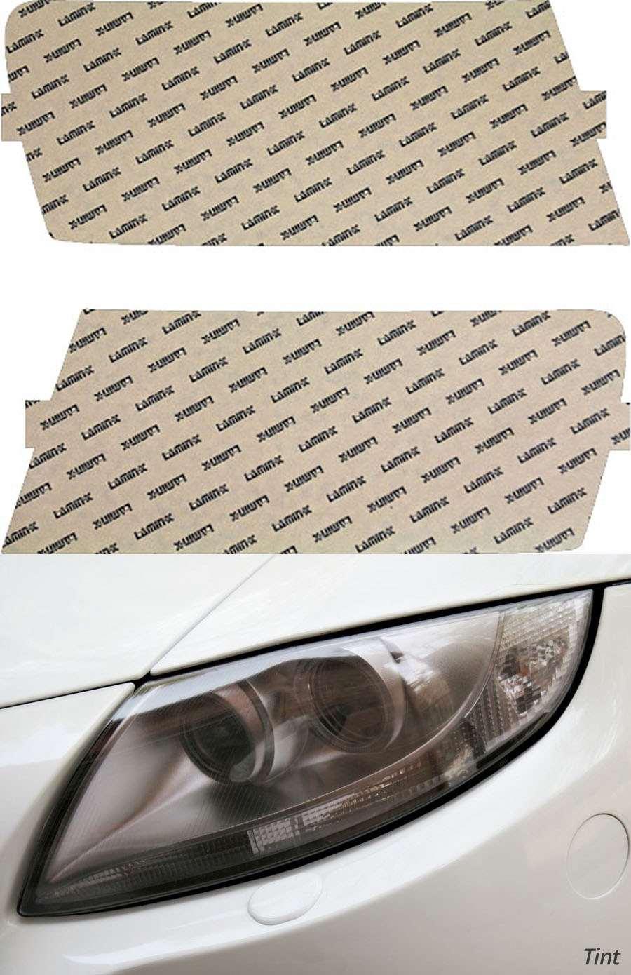 Dodge Dakota 08-11 Tint Headlight Covers Lamin-X D016T