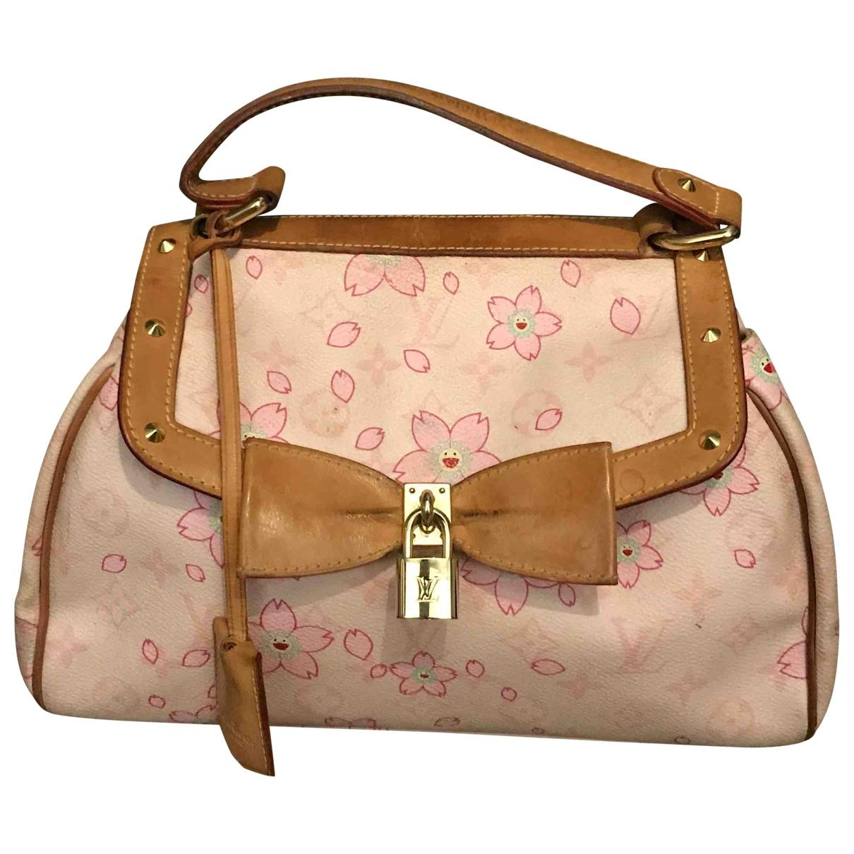 Louis Vuitton \N Pink Cloth handbag for Women \N