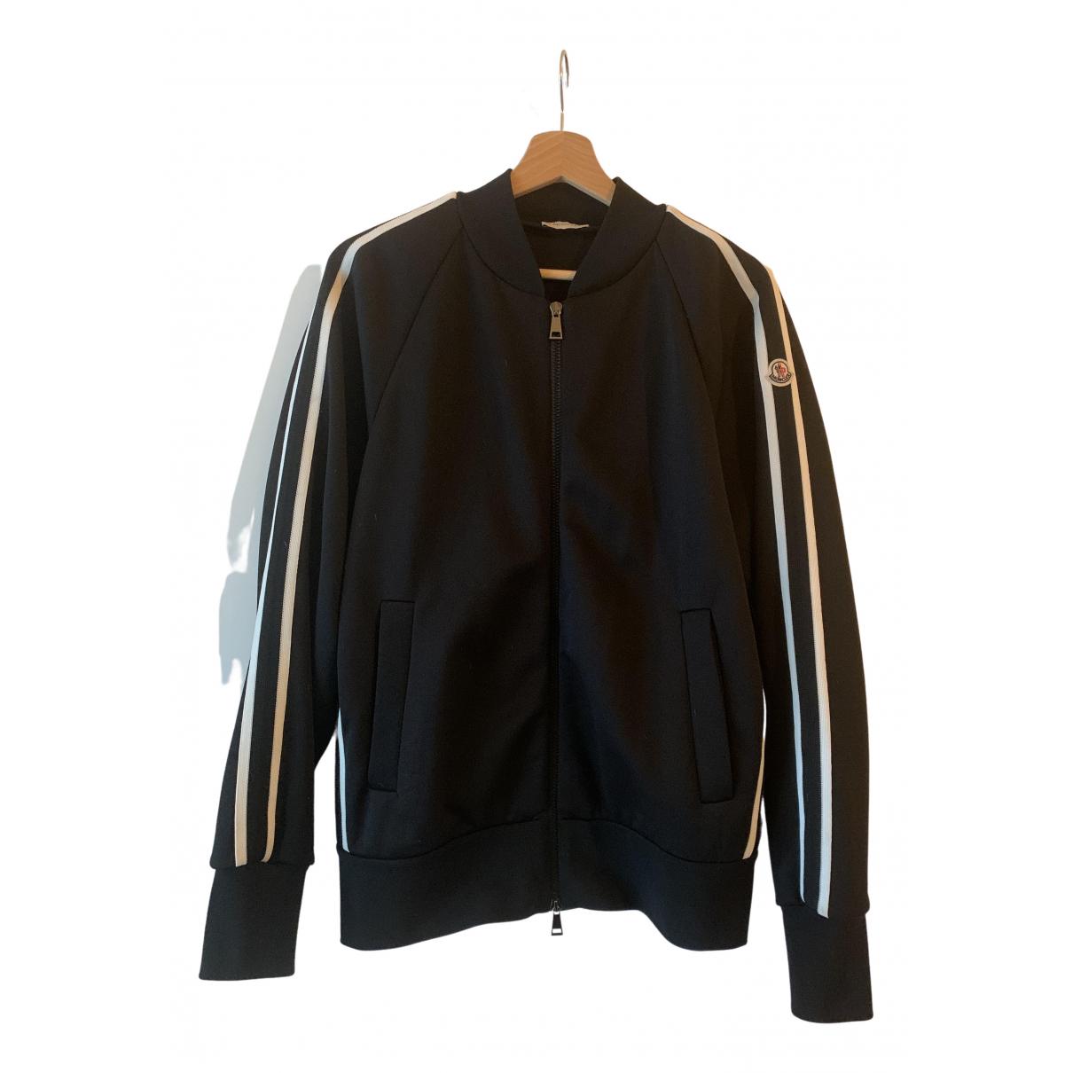 Moncler \N Black Leather jacket for Women S International