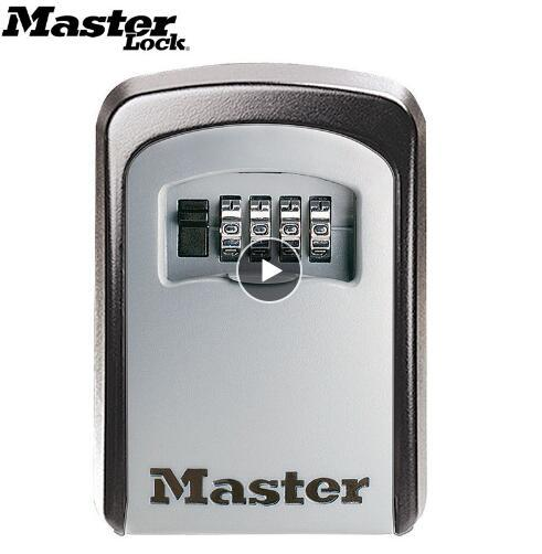 Master Lock Key Safe Box Outdoor Wall Mount Combination Password Lock Hidden Keys Storage Box Security Safes For Home Of