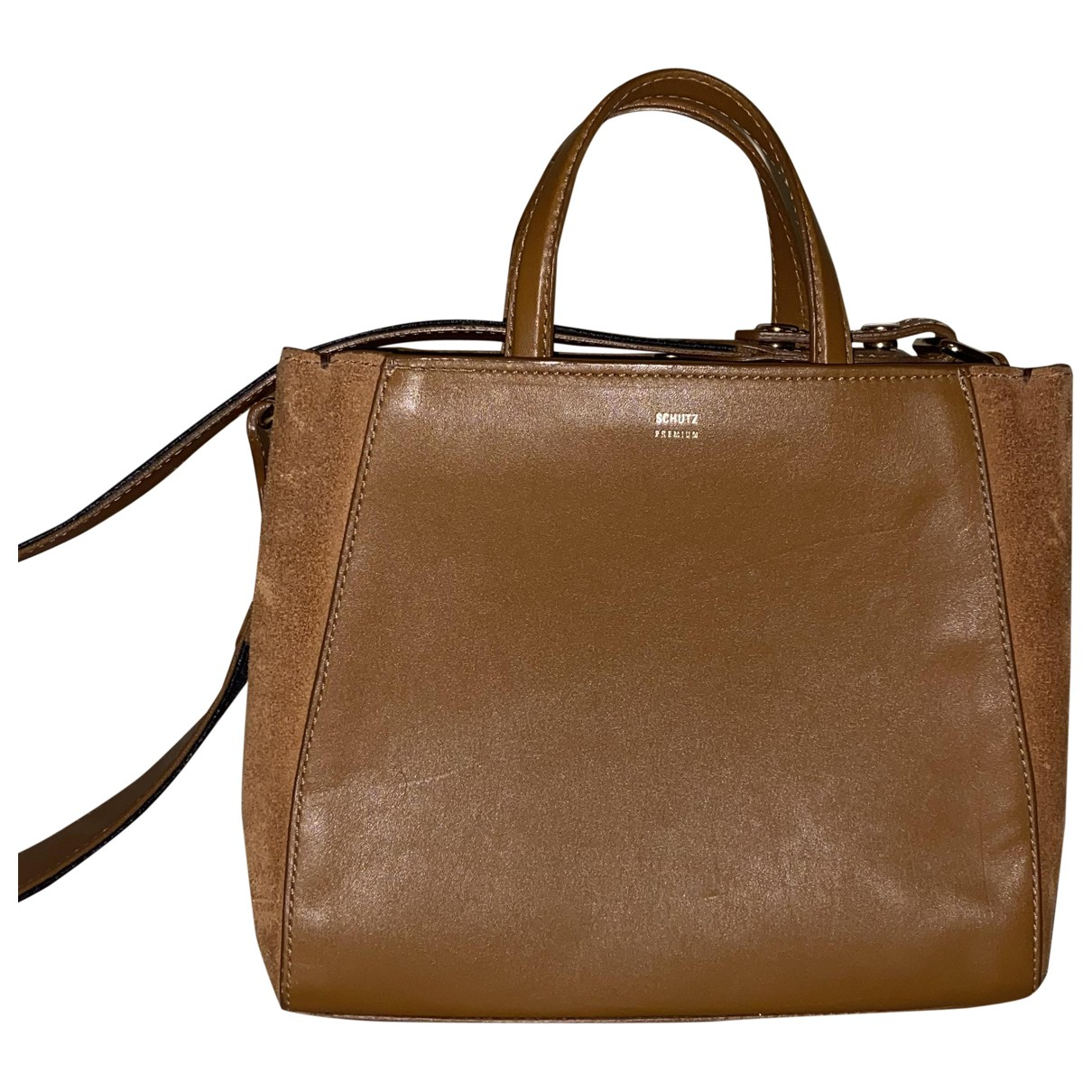 Schutz \N Brown Leather handbag for Women \N