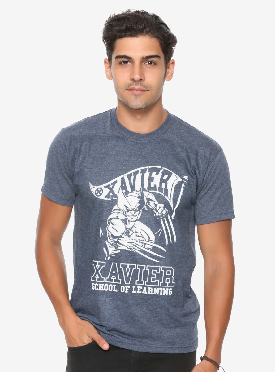 Marvel X-Men Wolverine Xavier School T-Shirt - BoxLunch Exclusive