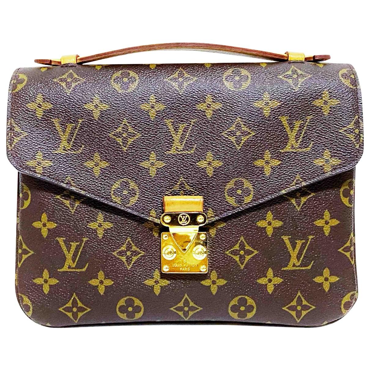 Louis Vuitton Metis Brown Cloth handbag for Women \N