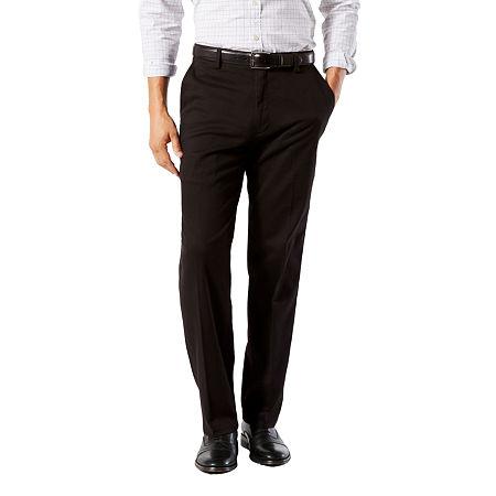 Dockers Big & Tall Classic Fit Easy Khaki Pants D3, 48 34, Black