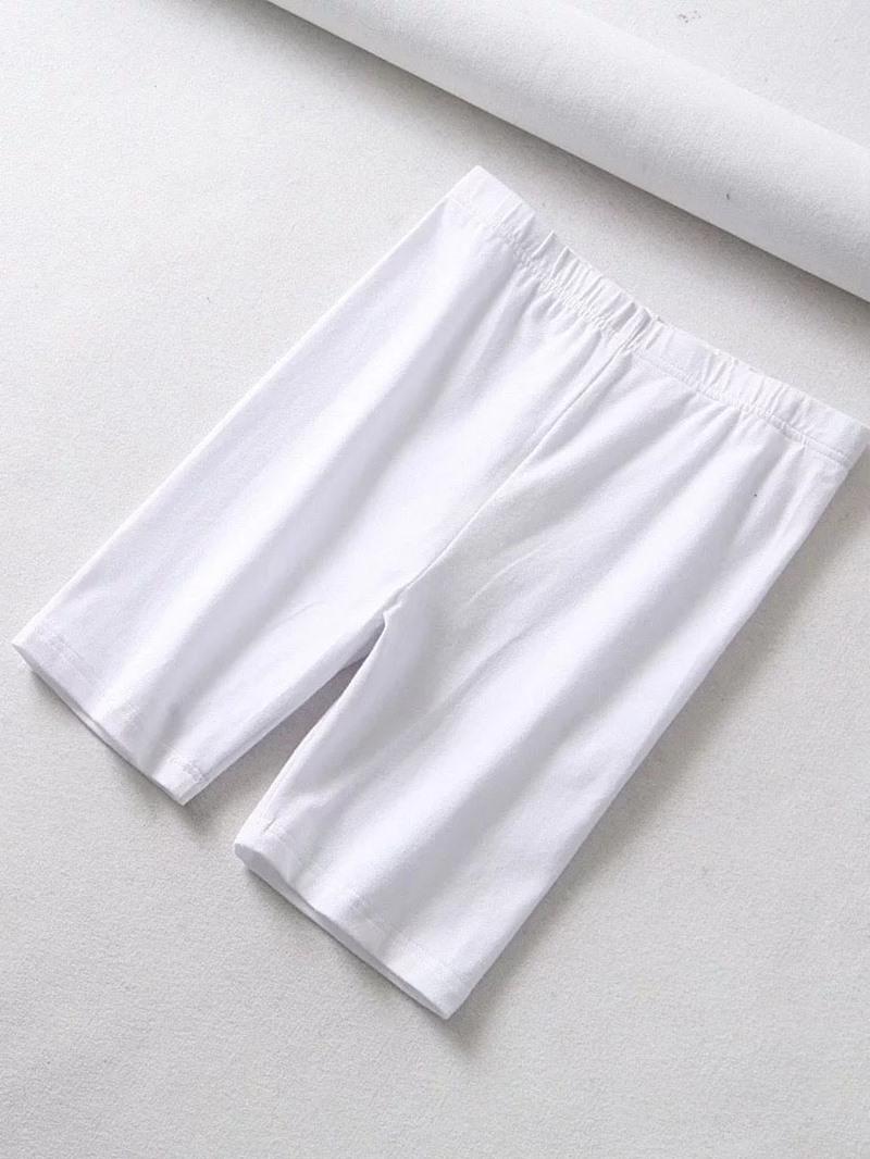 Ericdress Yoga Plain High Waist Elastics Legging Shorts