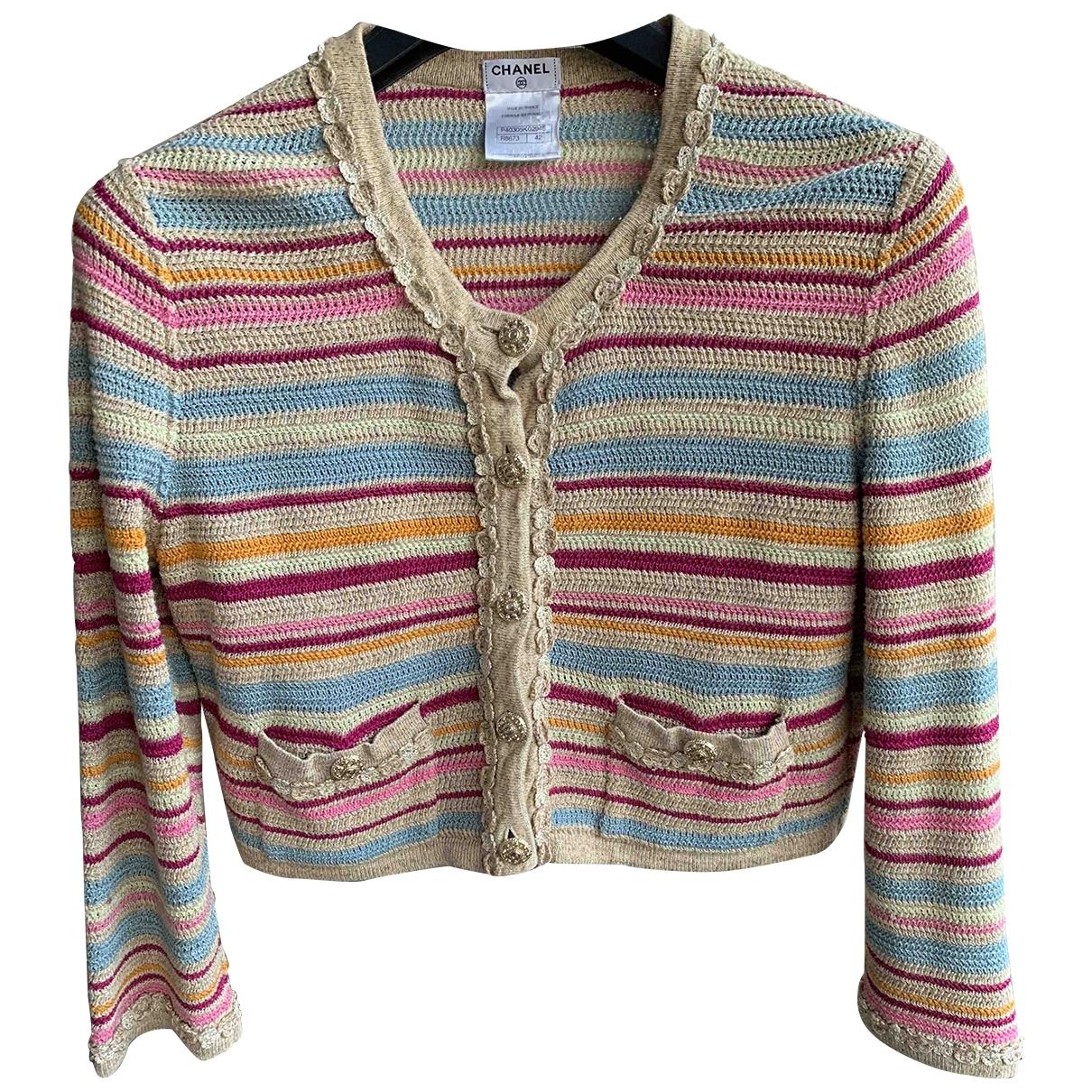 Chanel \N Multicolour Cotton Knitwear for Women 42 FR