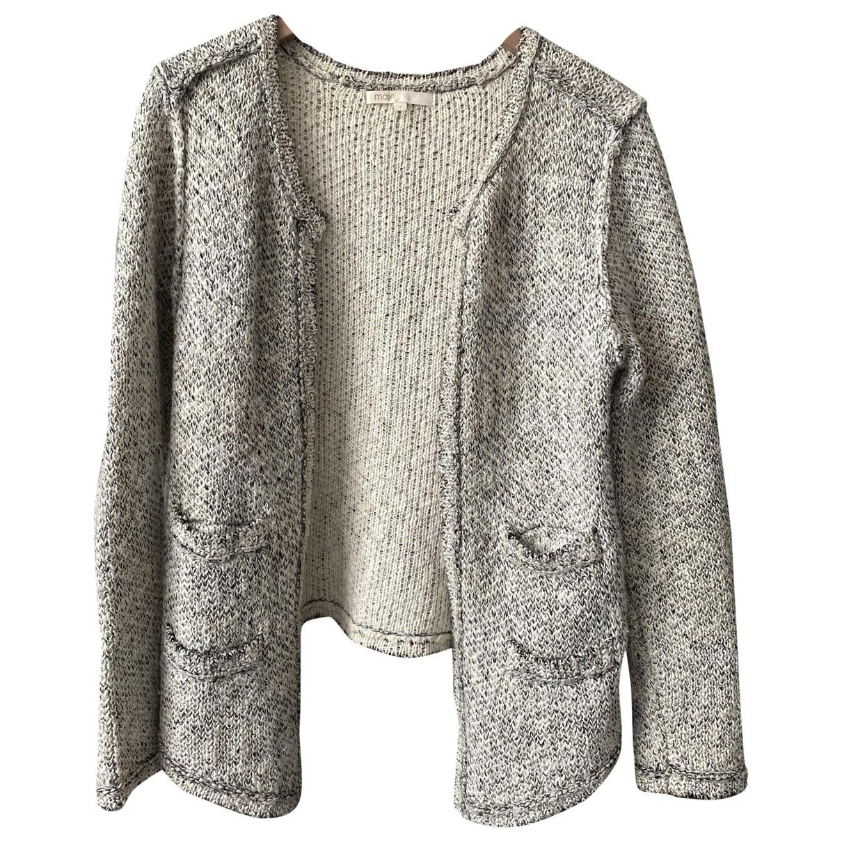 Maje \N Grey Wool Knitwear for Women 36 FR
