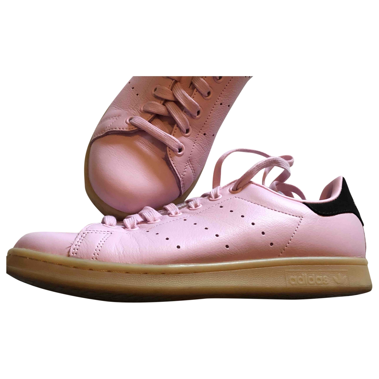 Adidas Stan Smith Pink Leather Trainers for Women 40 EU