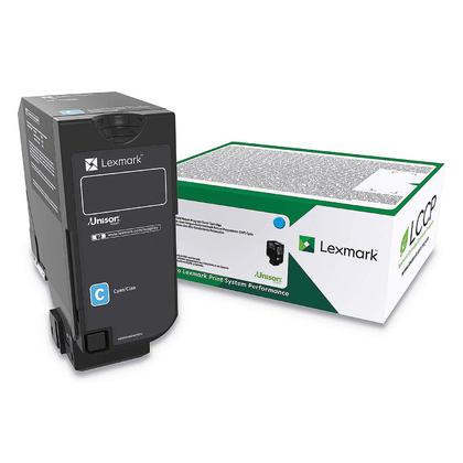Lexmark 84C1HC0 Original Cyan Return Program Toner Cartridge High Yield