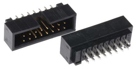 Molex , C-Grid, 70246, 16 Way, 2 Row, Straight PCB Header (5)