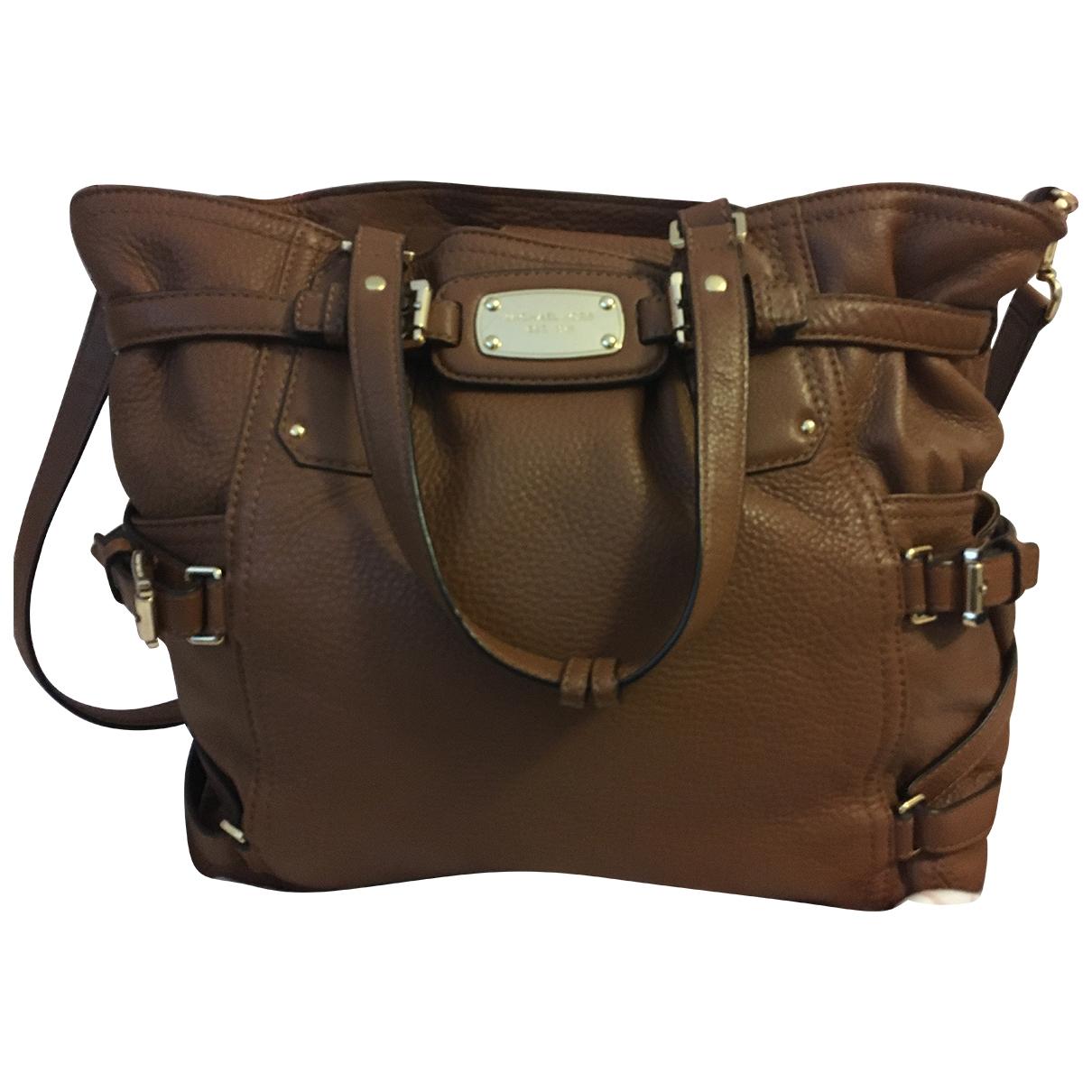 Michael Kors \N Camel Leather handbag for Women \N