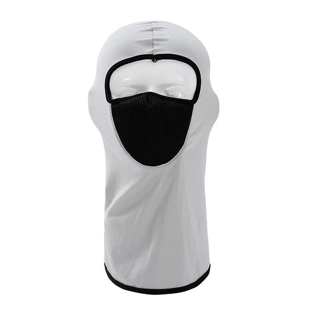 Face Masks Cycling Ventilation Mask Sports Outdoor Motorcycle Dust And Sunscreen Mask Head Cover Lycra CS Mask Mesh