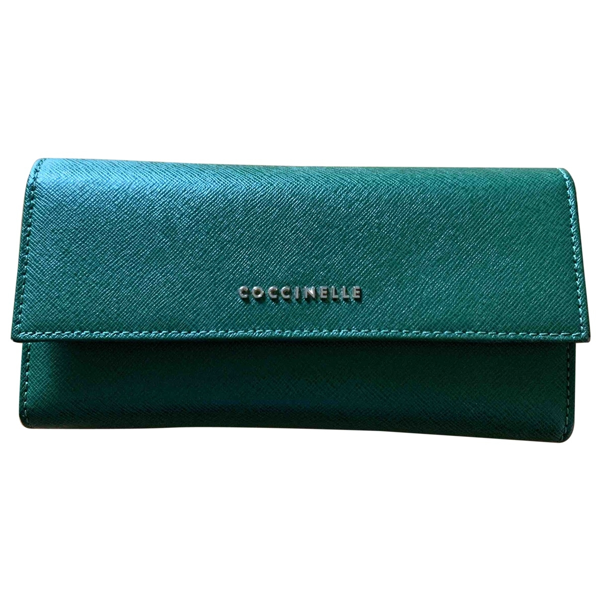 Coccinelle \N Green Leather wallet for Women \N