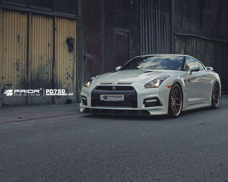 Prior Design 4260609893311 PD750 Front Bumper w/Front Lip Nissan GT-R R35 09-16