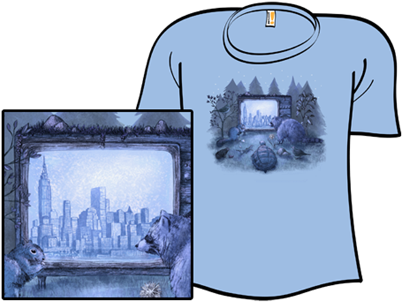 Nature Channel T Shirt