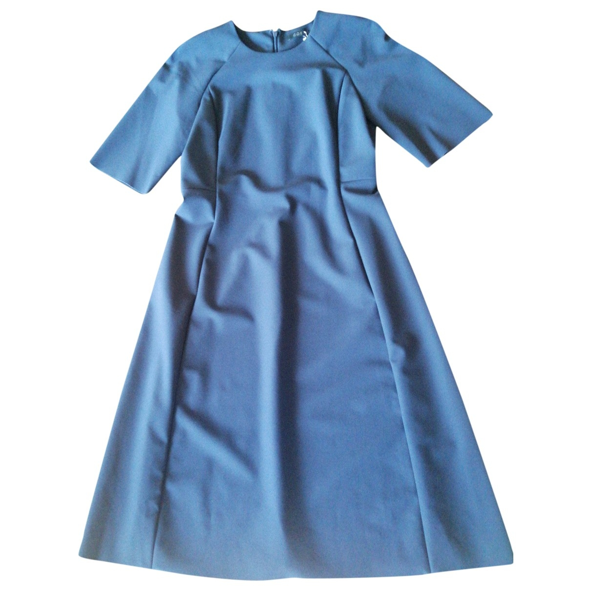 Cos \N Blue dress for Women 38 FR