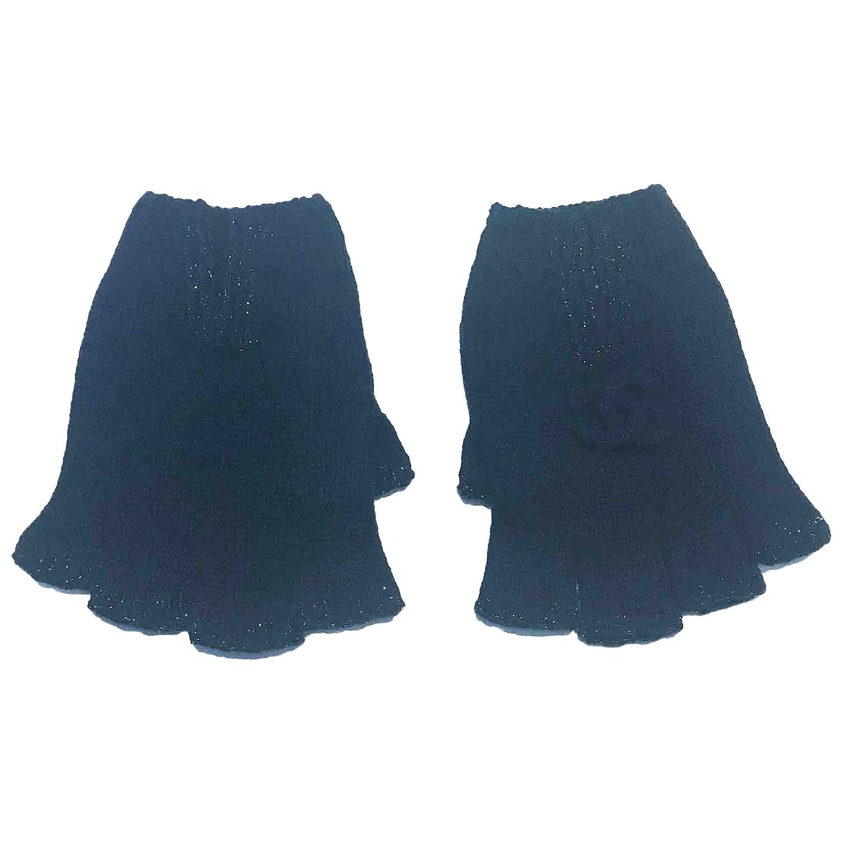 Chanel \N Blue Cashmere Gloves for Women S International