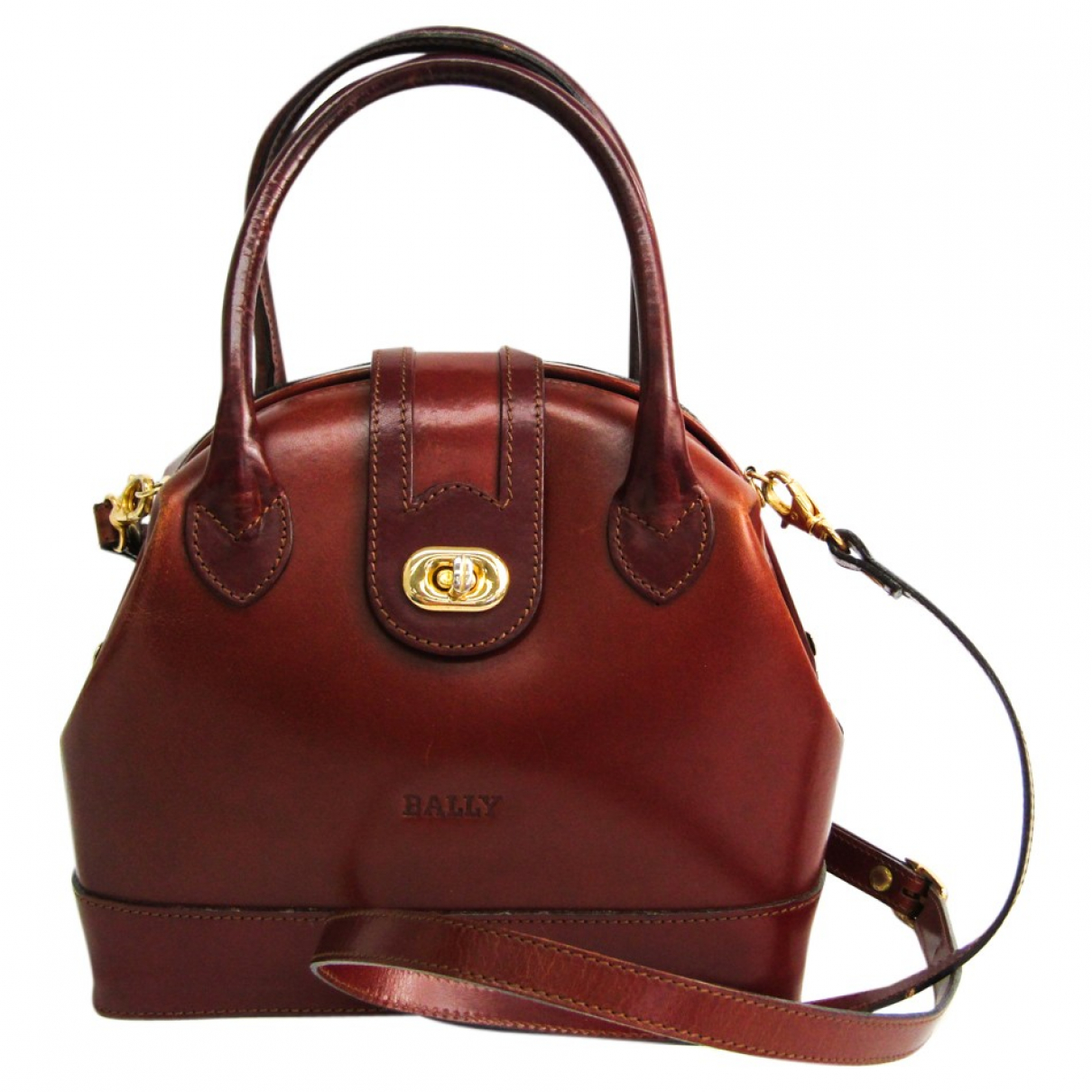 Bally \N Brown Leather handbag for Women \N