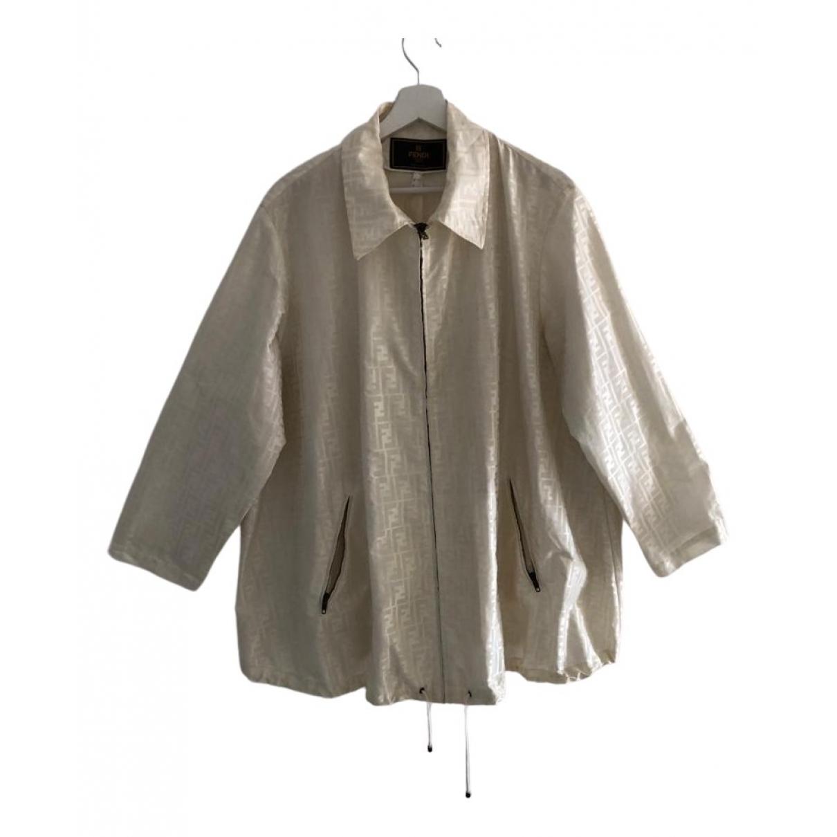 Fendi \N White Cotton jacket for Women 8 US