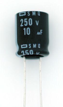 Nippon Chemi-Con 2200μF Electrolytic Capacitor 35V dc, Through Hole - ESMQ350ELL222ML25S (50)