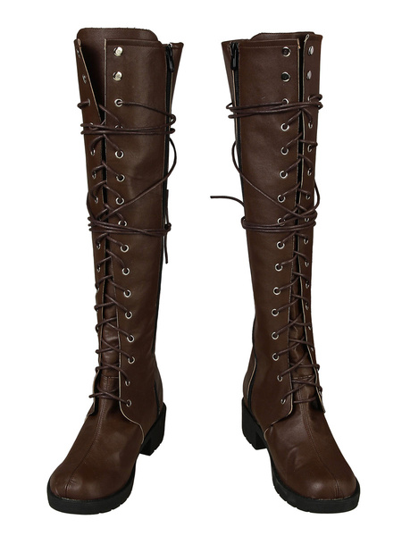 Milanoo Jumanji The Next Level Cosplay Ruby Roundhouse Cosplay Boots
