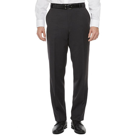 Stafford Super Classic Fit Suit Pants, 42 29, Black
