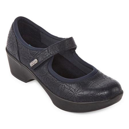 Yuu Womens Candra Slip-On Shoe, 5 Wide, Blue
