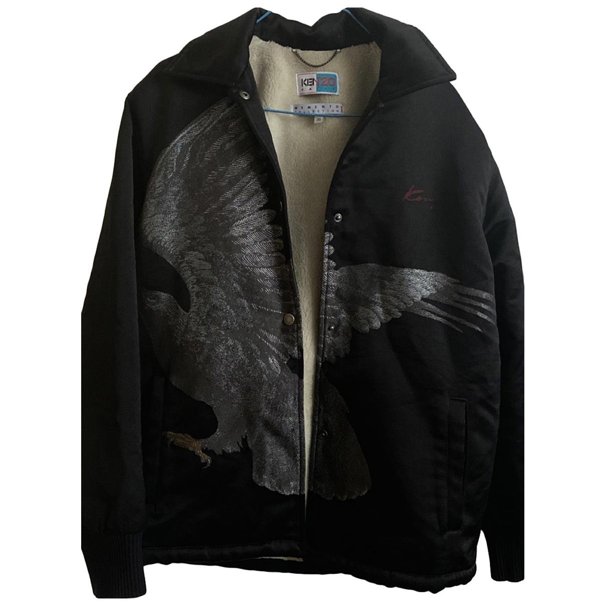 Kenzo \N Black Cotton jacket for Women 36 FR
