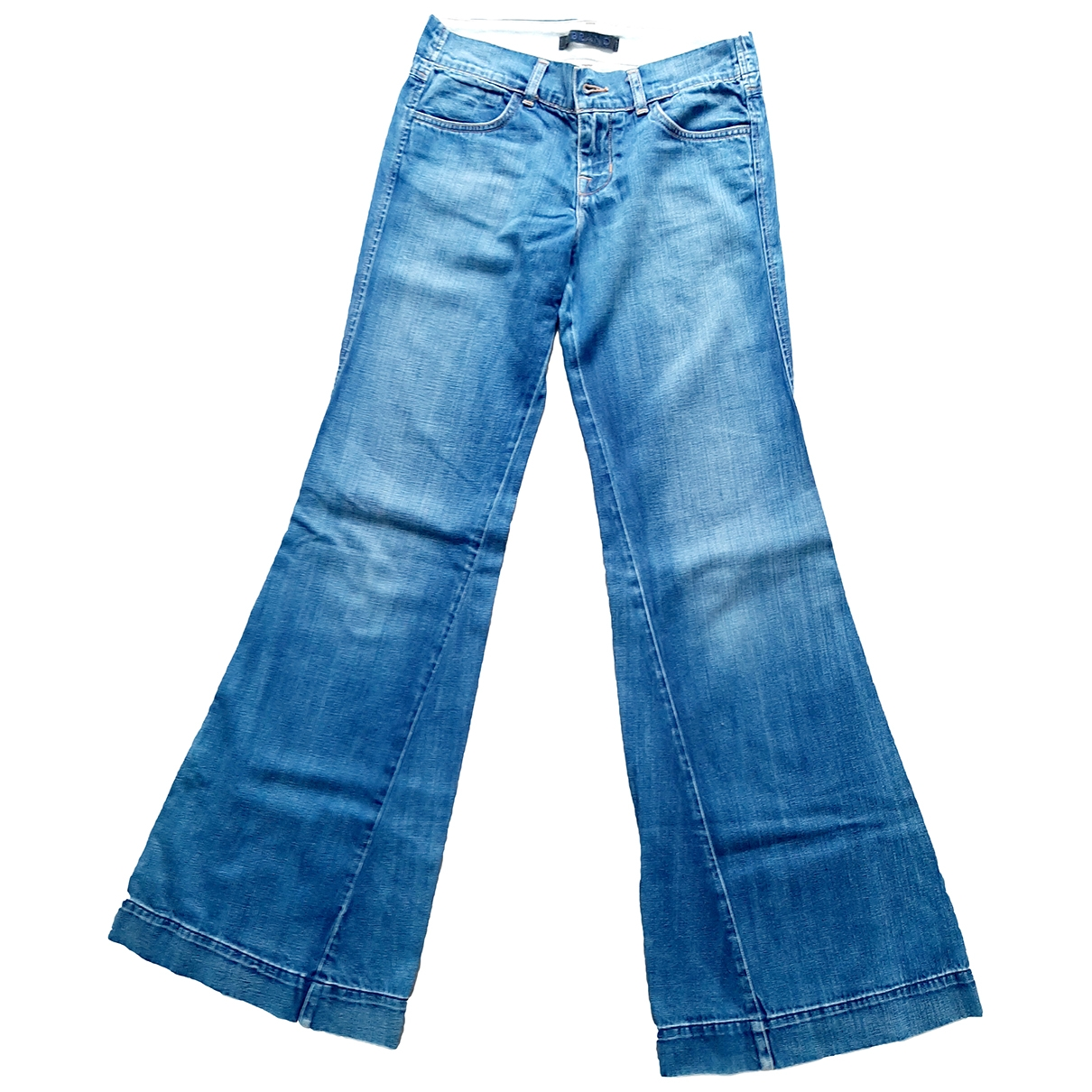 J Brand \N Blue Cotton Jeans for Women 25 US