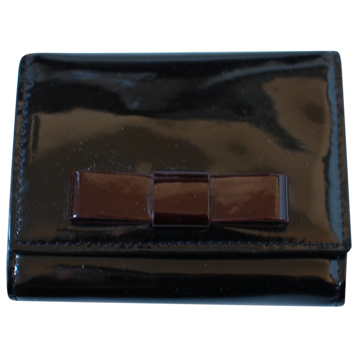 Max Mara \N Black Patent leather Purses, wallet & cases for Women \N