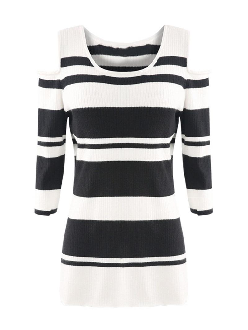 Ericdress Hollow Regular Fall Plus Size Knitwear