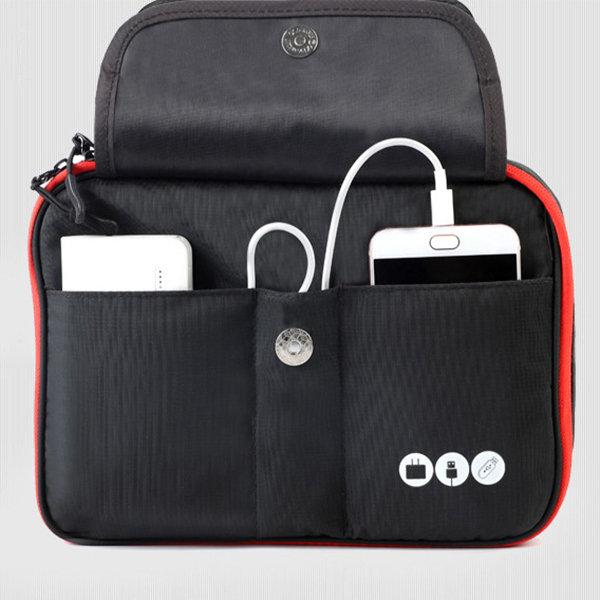 Multi-Function Storage Bag Charging Treasure Mobile Hard Disk USB Power Headset Finishing Package