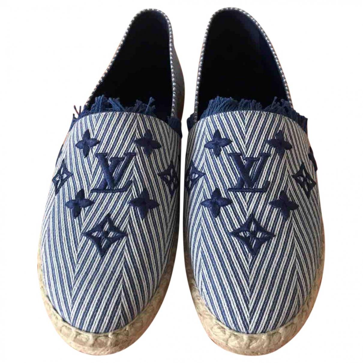 Louis Vuitton \N Blue Cloth Espadrilles for Women 40 EU