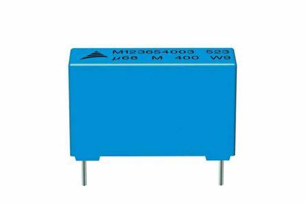 EPCOS 1μF Polyester Capacitor PET 200 V ac, 400 V dc ±10%, Through Hole (540)