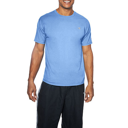 Champion-Big and Tall Mens Crew Neck Short Sleeve T-Shirt, 3x-large , Blue