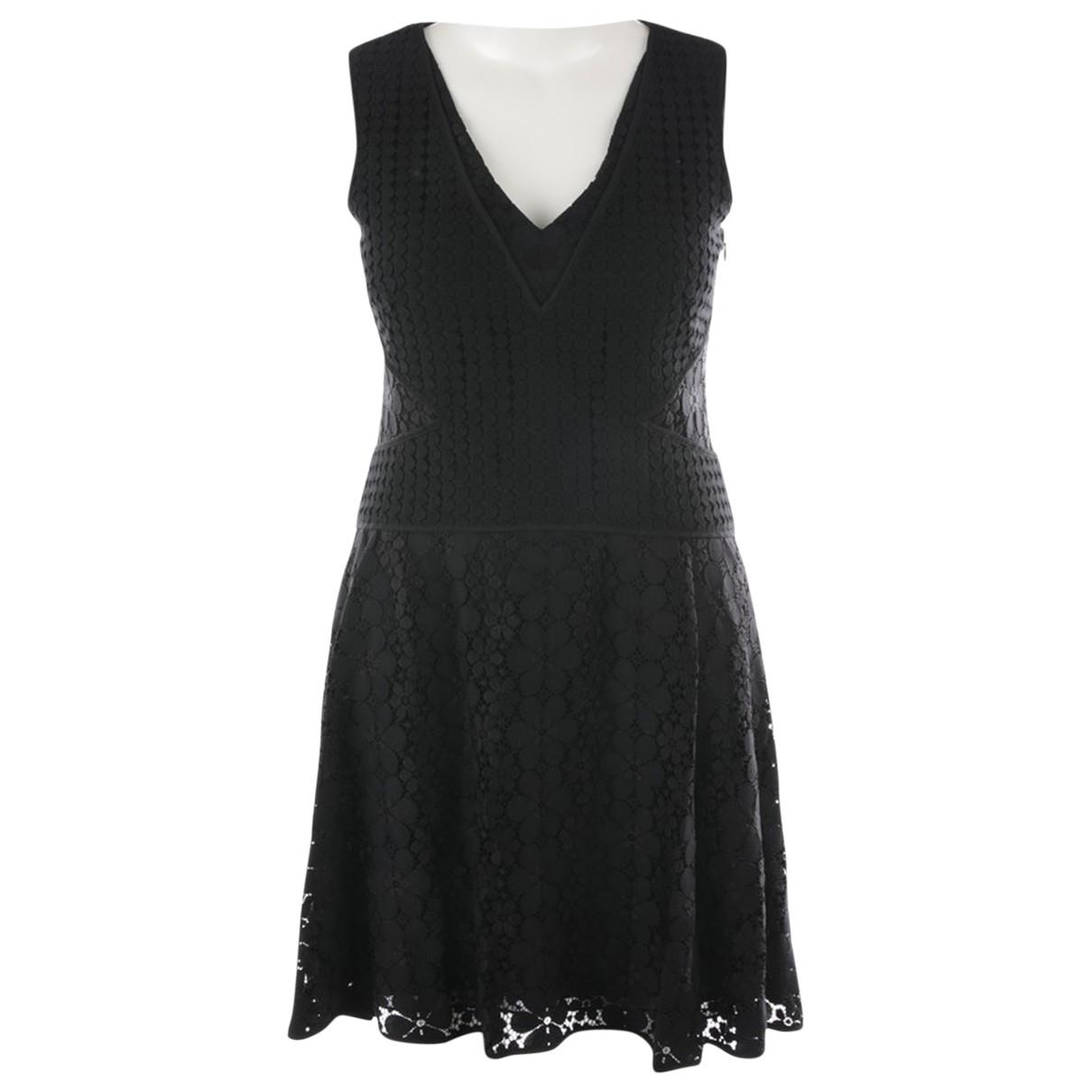 Diane Von Furstenberg \N Black Cotton dress for Women 40 FR
