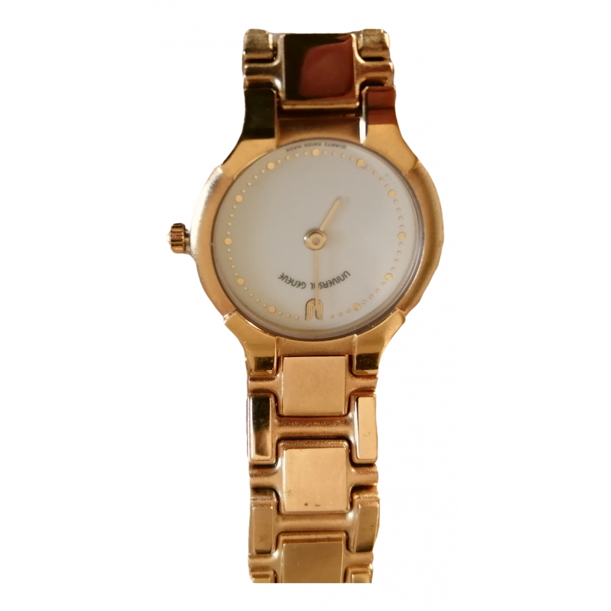 Universal Geneve \N Gold Gold plated watch for Women \N