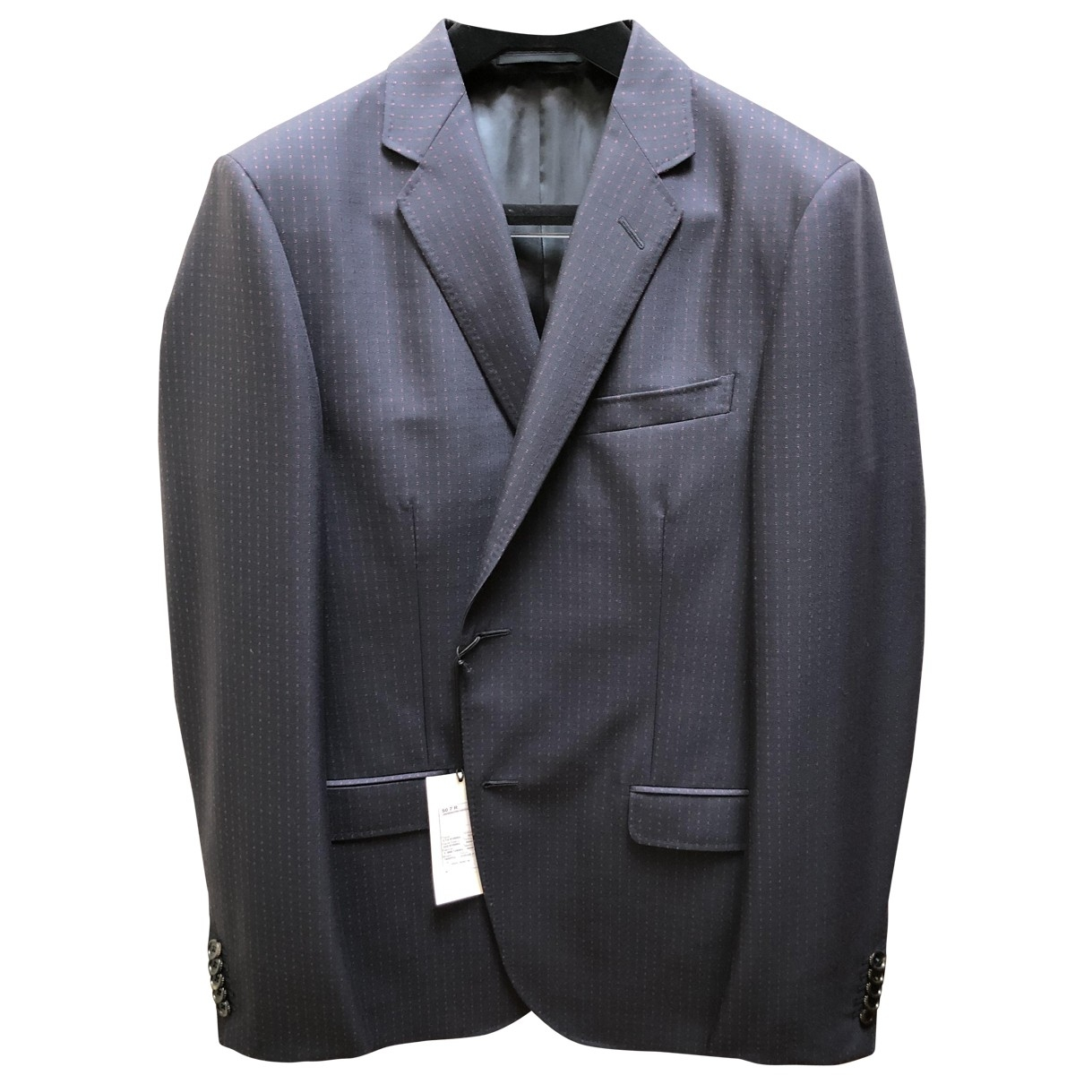 Gucci \N Blue Wool Suits for Men 50 IT