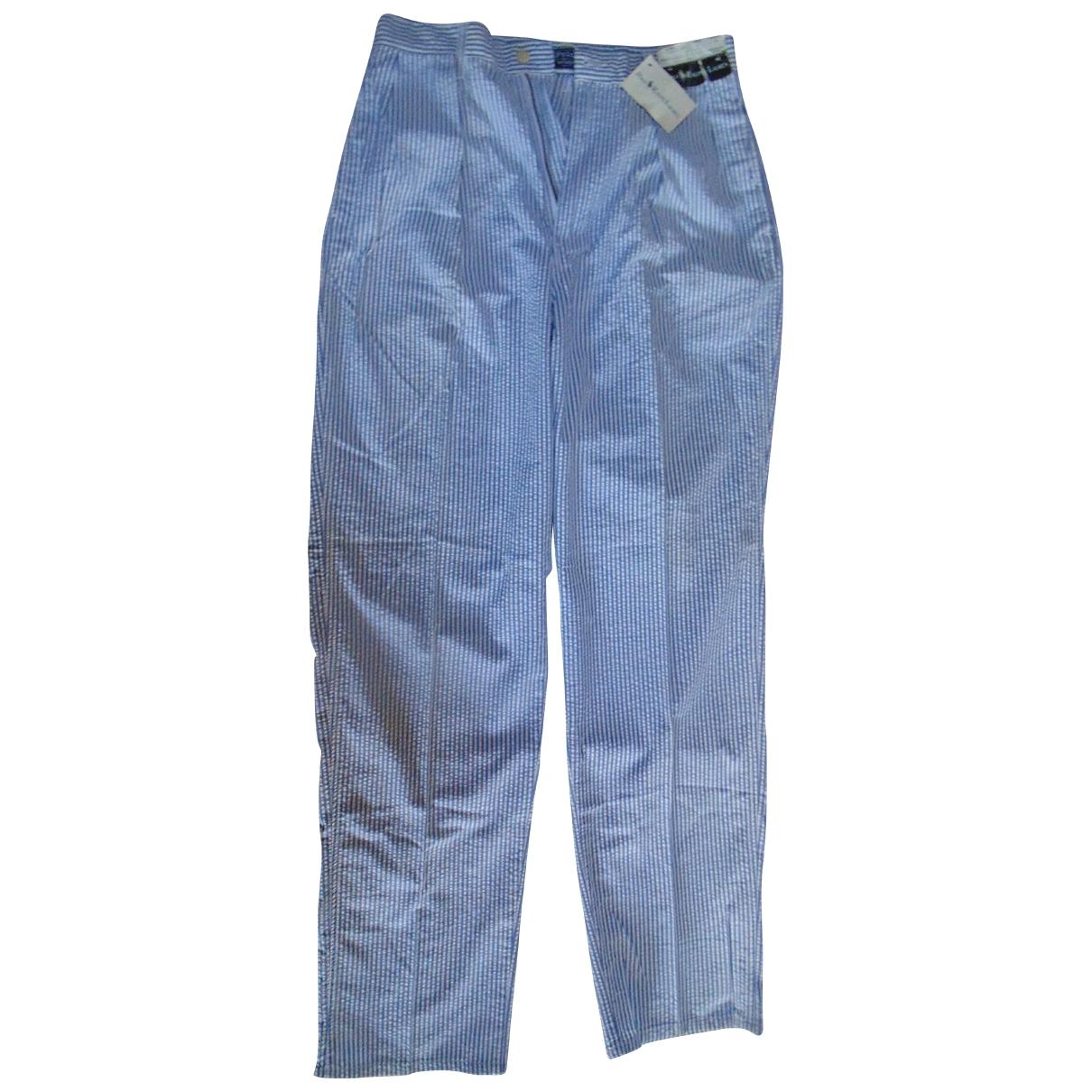Polo Ralph Lauren \N Multicolour Cotton Trousers for Men 32 UK - US