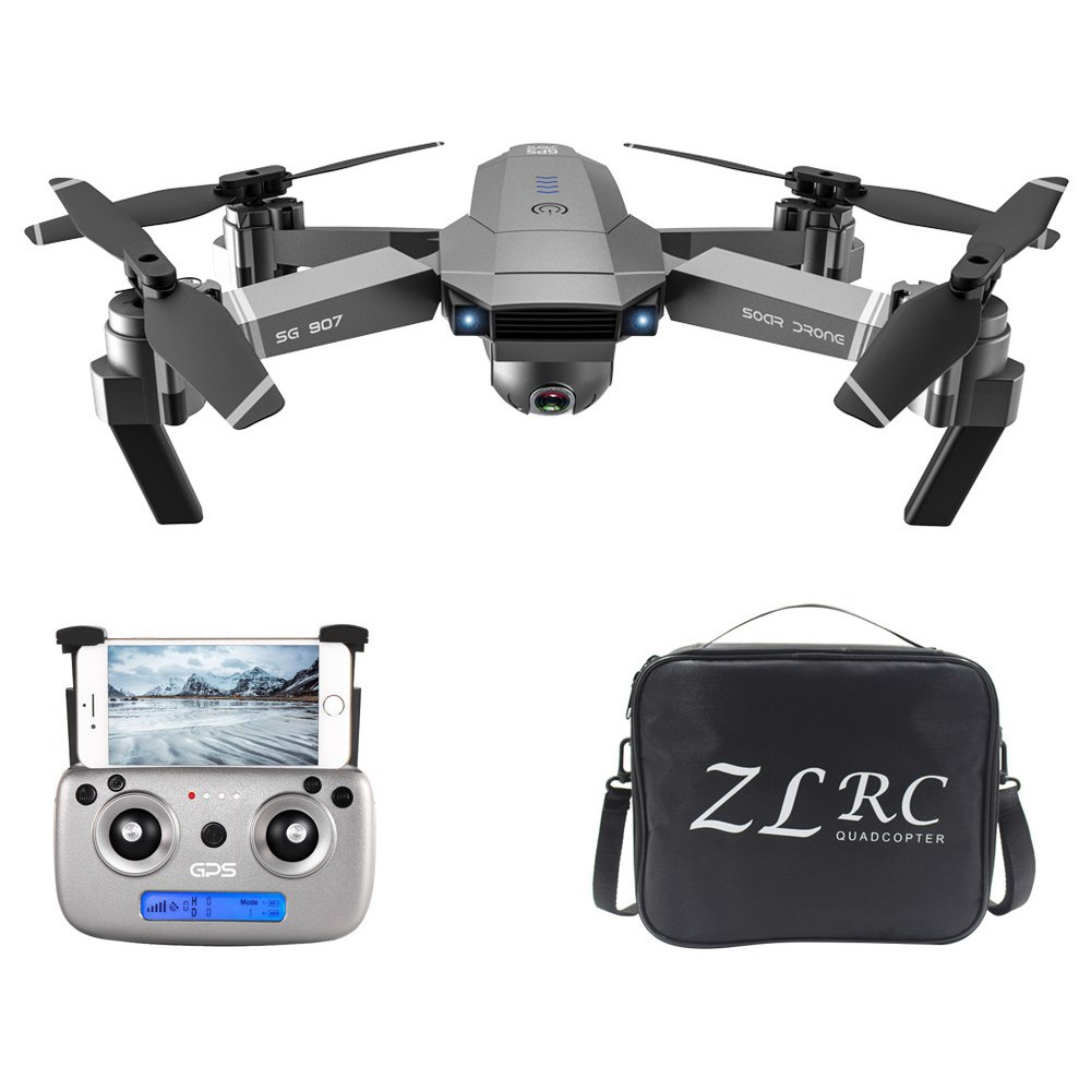 ZLRC SG907 4K 5G FPV GPS Foldable RC Drone FPV One Battery With Bag