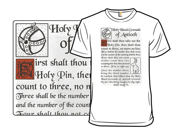 Holy Instructions T Shirt