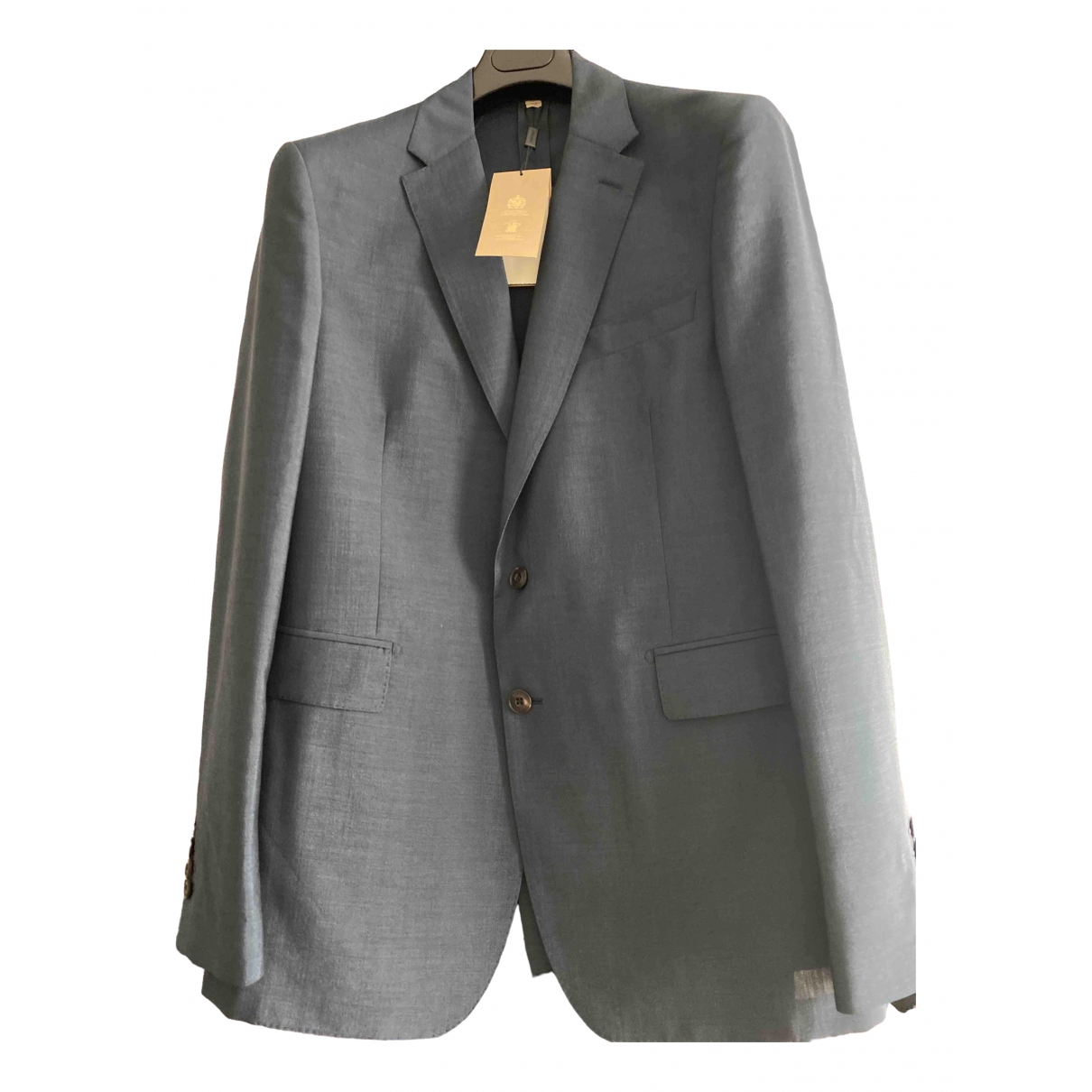 Burberry \N Multicolour Wool Suits for Men 54 IT