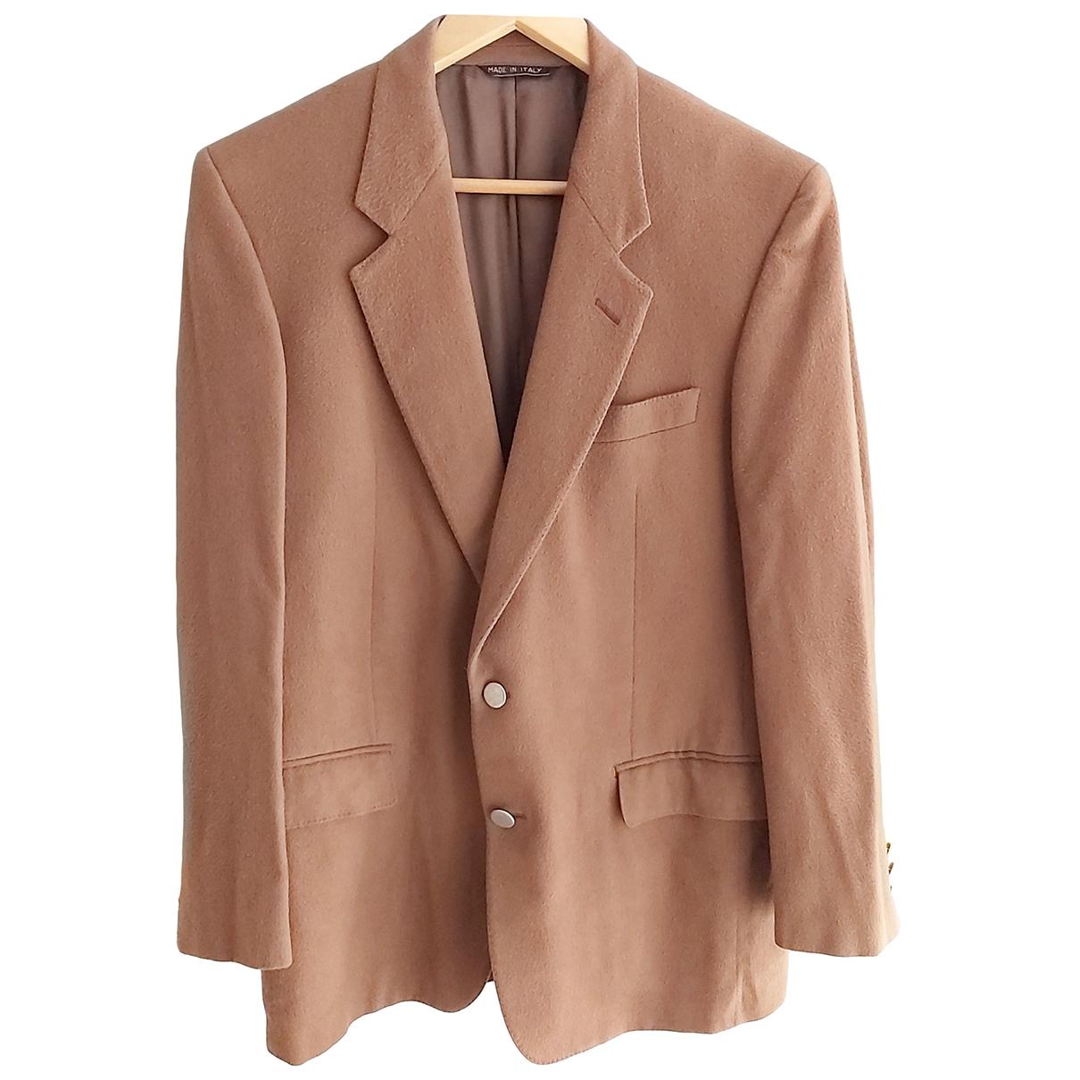 Non Signé / Unsigned \N Camel Cashmere jacket  for Men S International